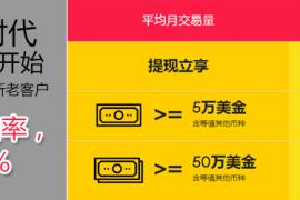 重磅:万里汇WorldFirst跨境电商提现费0.3%起,最低至0!